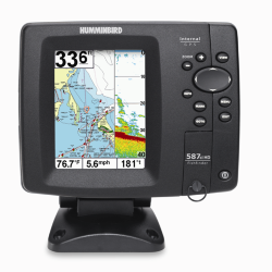 "Картплоттер Humminbird  587cxi HD Combo  Экран 5"", 256-цветной. Сонар: двух-лучевой. Встроенный GPS."