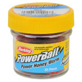 Силиконовая приманка Berkley Power Honey Worm (EBPHWR)(красный)