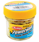 Силиконовая приманка Berkley Power Honey Worm (EBPHWY)(желтый)