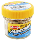 Силиконовая приманка Berkley Power Honey Worm Natural (EBPHWN)